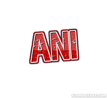 Ani Logo   Free Name Design Tool from Flaming Text