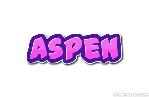 Aspen Logo   Free Name Design Tool from Flaming Text