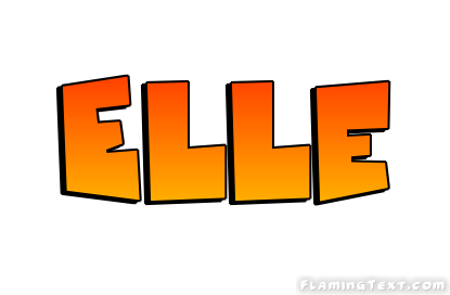 Elle logo free name design tool from flaming text for Elle decor logo
