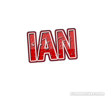 Ian Logo   Free Name Design Tool from Flaming Text