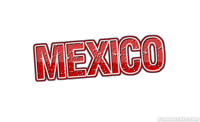 Mexico logo free name design tool from flaming text for Mexican logos pictures