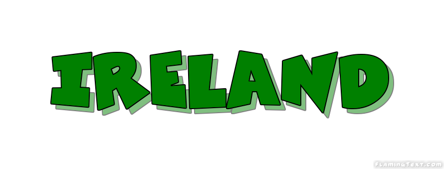 ireland logo free logo design tool from flaming text