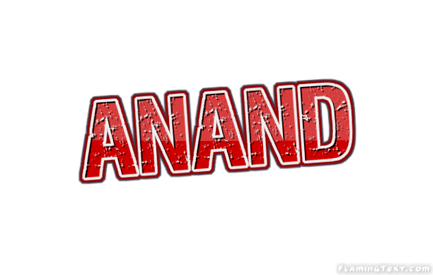 anand logo free name design tool from flaming text