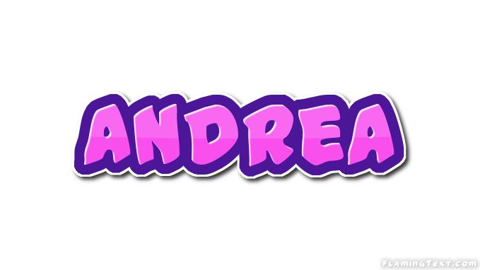 Andrea Logo Herramienta De Diseño De Nombres Gratis De Flaming Text