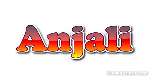 Anjali Logo Free Name Design Tool From Flaming Text