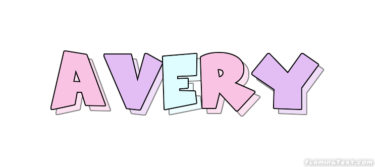 avery logo free name design tool from flaming text