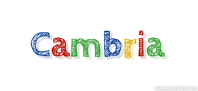 Cambria Logo | Free Name Design Tool from Flaming Text
