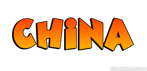 China Logo  Free Name Design Tool from Flaming Text