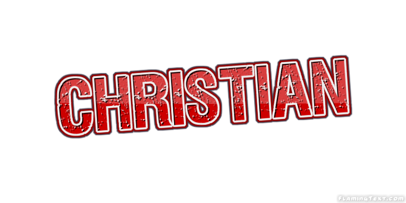christian logo free name design tool from flaming text