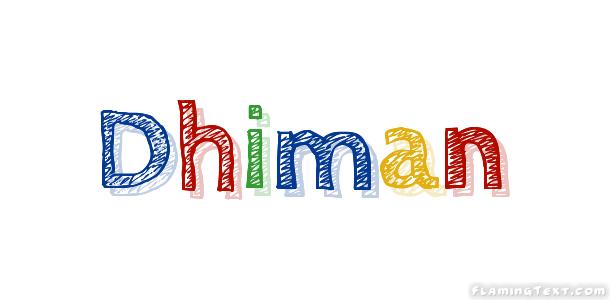 dhiman name