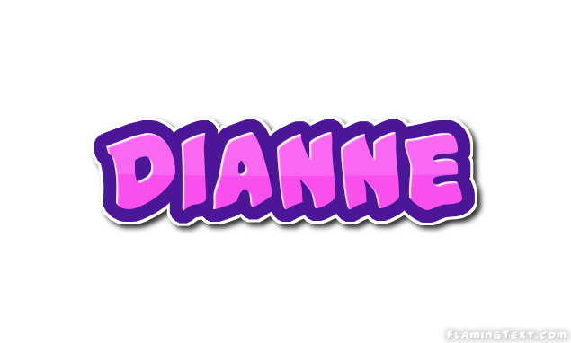 dianne logo free name design tool from flaming text