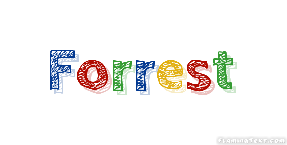 Forrest Logo | Free Name Design Tool from Flaming Text