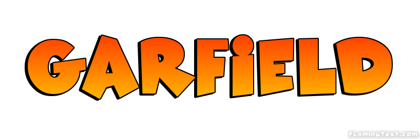 Garfield Logo Free Name Design Tool From Flaming Text