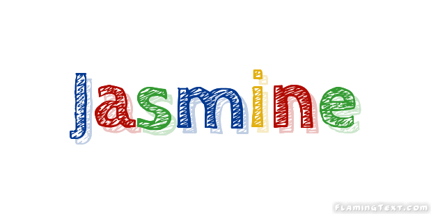 jasmine logo free name design tool from flaming text