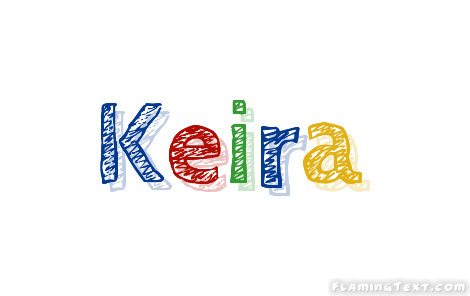 Keira Logo   Free Name Design Tool from Flaming Text