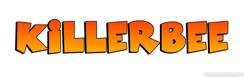 killerbee logo free name design tool from flaming text