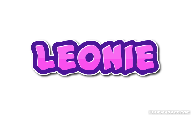 Leonie Logo | Free Name Design Tool from Flaming Text