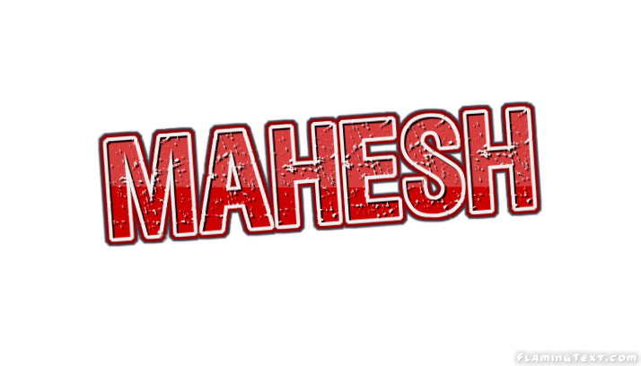 Mahesh Logo | Free Name Design Tool from Flaming Text