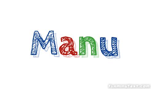Manu Logo Free Name Design Tool From Flaming Text