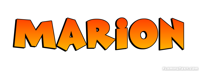 Marion name