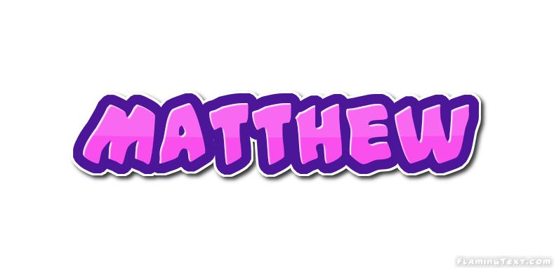 Matthew Logo | Free Name Design Tool from Flaming Text