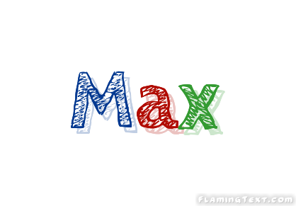 Max Logo | Free Name Design Tool from Flaming Text