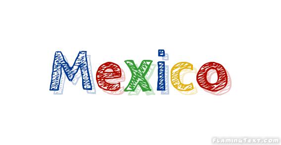 Mexico लोगो   ज्वलंत पाठ से मुक्त नाम ...