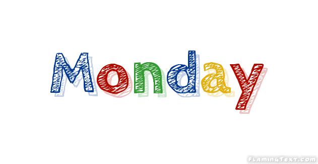 Monday Logo | Herramienta de diseño de nombres gratis de Flaming Text