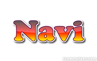 navi logo free name design tool from flaming text. Black Bedroom Furniture Sets. Home Design Ideas