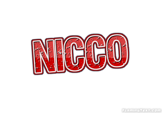 Nicco Logo | Free Name Design Tool from Flaming Text