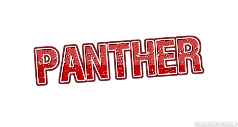 panther logo free name design tool from flaming text