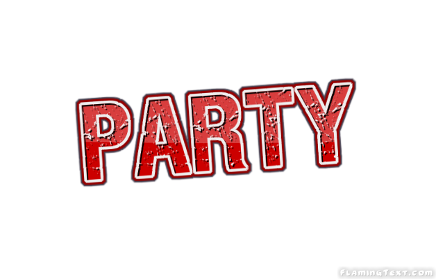 party logo free name design tool from flaming text party logo free name design tool from
