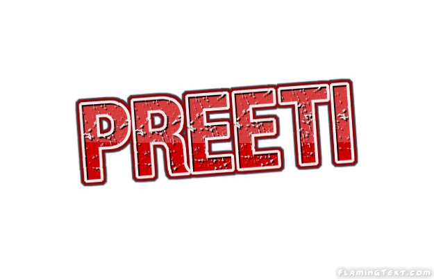 preeti logo free name design tool from flaming text