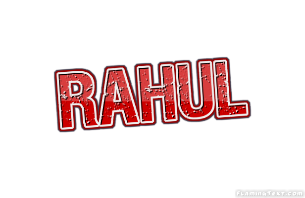 rahul logo free name design tool from flaming text