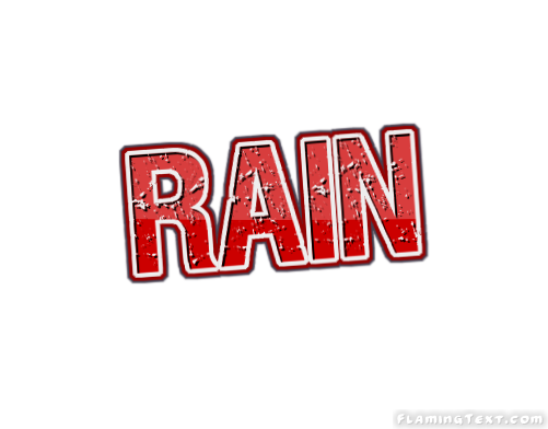 Rain Logo | Free Name Design Tool from Flaming Text