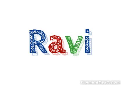 Ravi Logo | Free Name Design Tool from Flaming Text