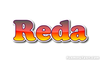 Reda Logo | Free Name Design Tool from Flaming Text