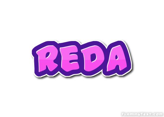 Reda Logo | Free Name Design Tool from Flaming Text