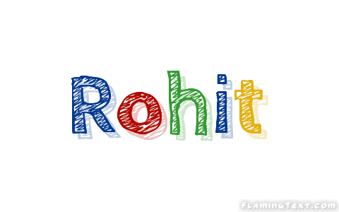 Rohit Logo   Free Name Design Tool from Flaming Text