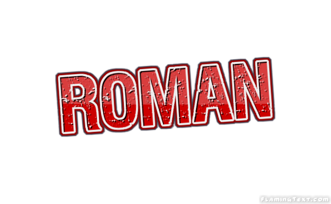 Roman Logo | Free Name Design Tool from Flaming Text