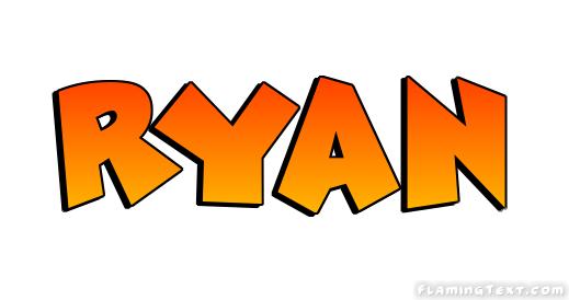 Ryan Logo Free Name Design Tool From Flaming Text