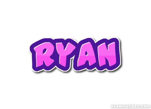 Ryan Logo | Free Name Design Tool from Flaming Text