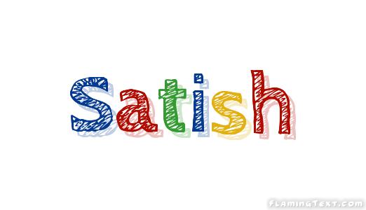 Satish Logo   Free Name Design Tool from Flaming Text