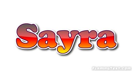 sayra name