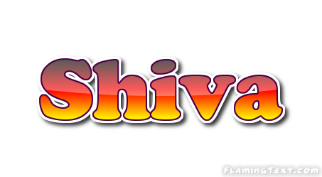 Shiva Logo | Free Name Design Tool from Flaming Text