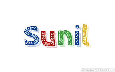 Sunil Logo Free Name Design Tool From Flaming Text