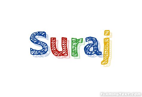Suraj Logo | Free Name Design Tool from Flaming Text
