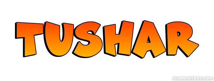 Tushar Logo Free Name Design Tool From Flaming Text