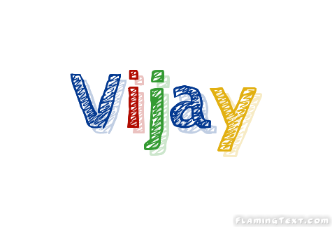 Vijay Logo Free Name Design Tool From Flaming Text