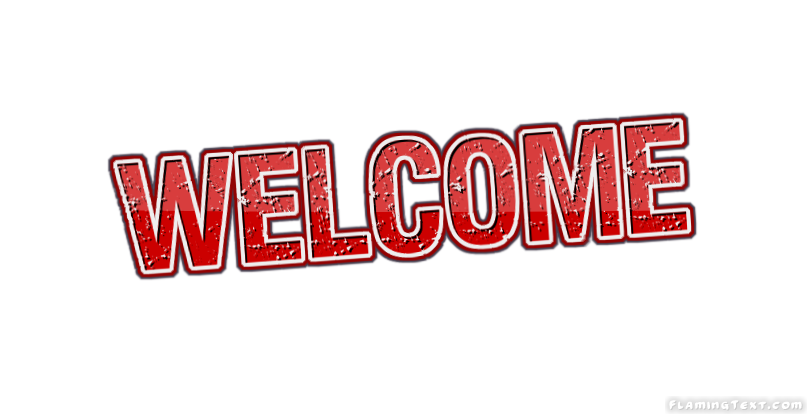 welcome logo free name design tool from flaming text